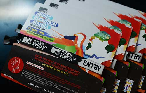 Win 10 Passes for MTV Music Evolution Manila