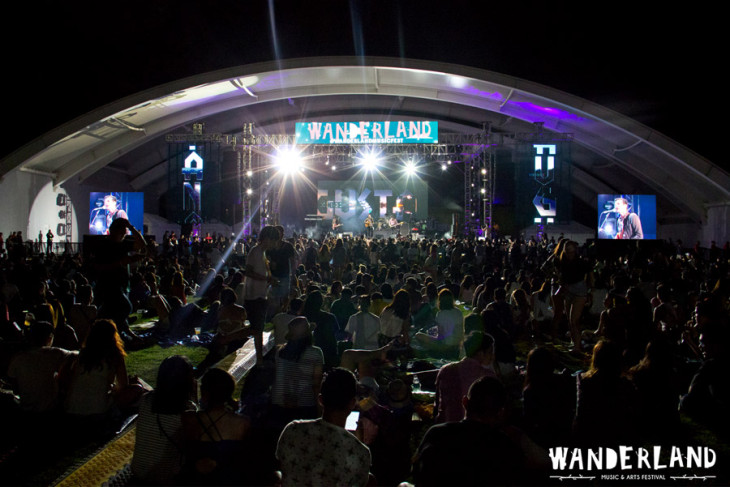 Camping Out at Wanderland