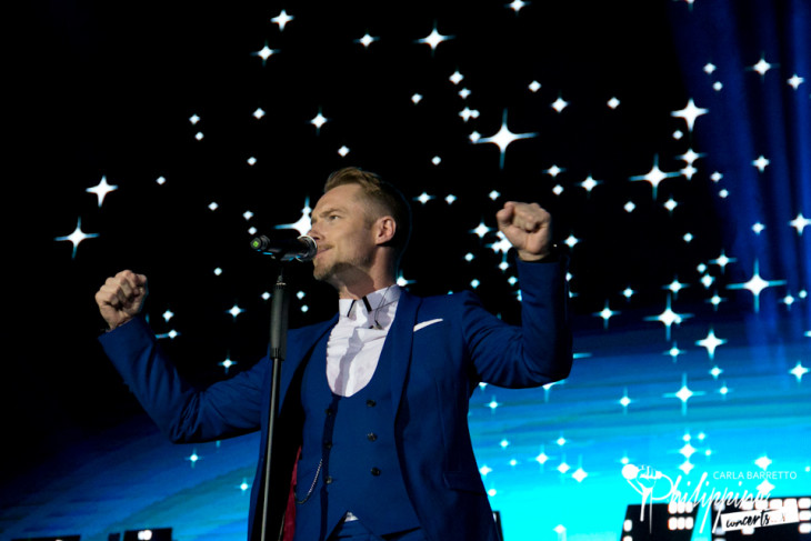 Boyzone Live in Manila Photo Gallery