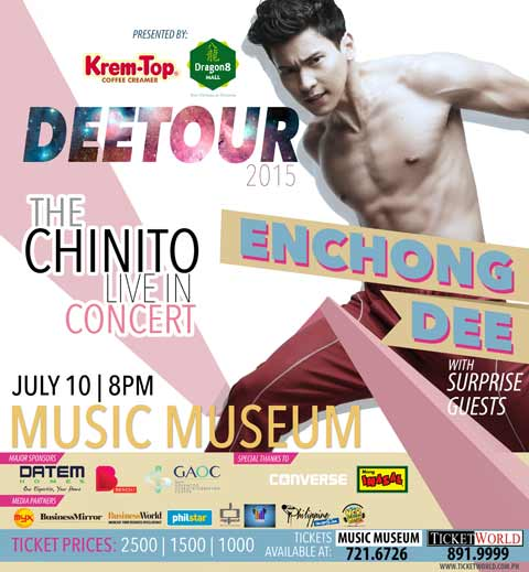 Enchong Dee The Chinito Live in Concert