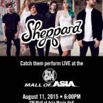 Sheppard Live in Manila 2015