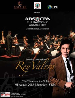 ABS-CBN Philharmonic Orchestra presents The Music of Rey Valera