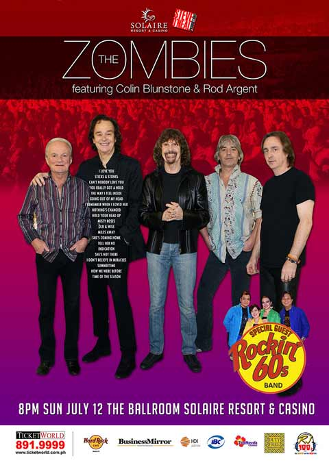 The Zombies Live at Solaire Resort