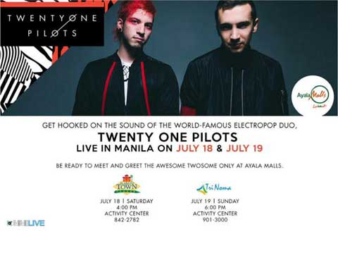 Twenty One Pilots Live in Manila 2015