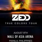 Zedd Live in Manila 2015