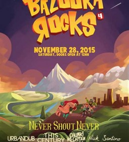 Bazooka Rocks 4 Nov 28, 2015