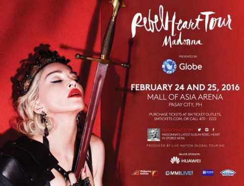 Madonna Rebel Hear Tour Manila