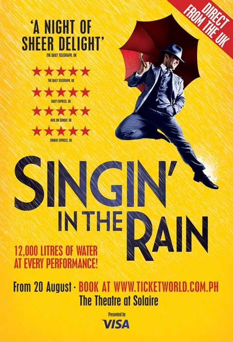 Singin' In The Rain Musical 2015