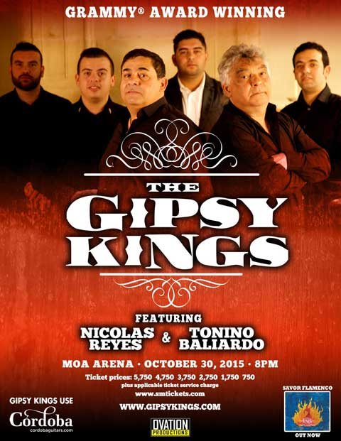 The Gipsy Kings Live in Manila 2015