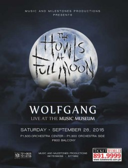 Wolfgang Live at Music Museum 2015
