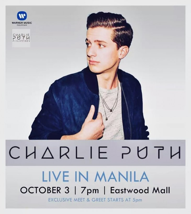 Charlie Puth Live in Manila