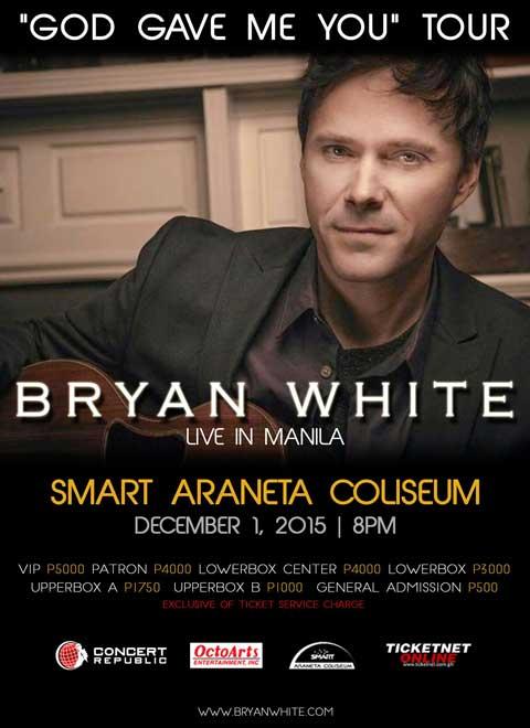 Bryan White Live in Manila 2015