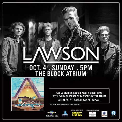 Lawson Live in Manila 2015