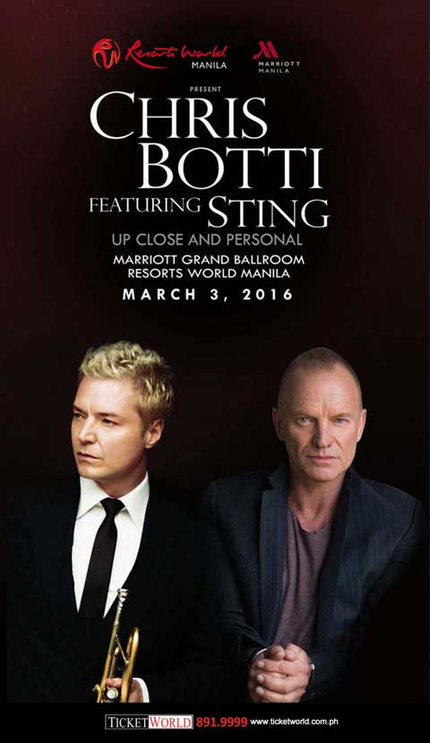 Chris Botti featuring Sting Live in Manila 2016