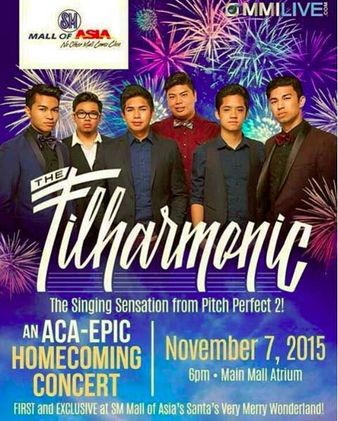 The Filharmonic Live in Manila 2015