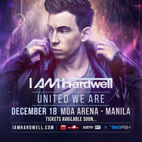Hardwell Live in Manila 2015 Cancelled