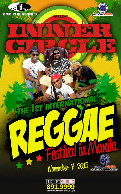 Inner Circle: International Reggae Festival in Manila