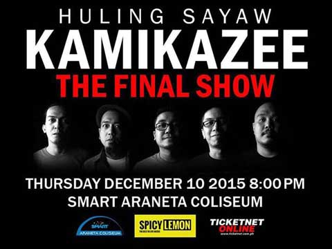 Kamikazee The Final Show