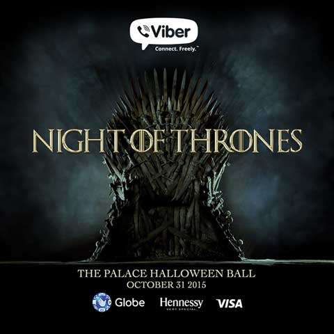 Night of Thrones – The Palace Halloween Ball
