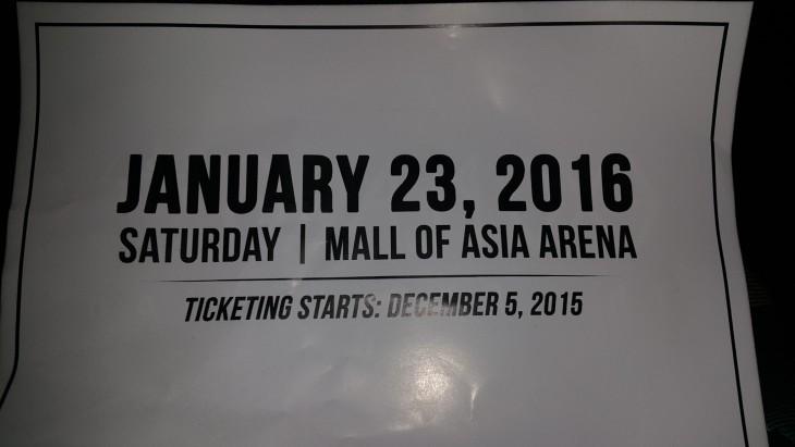 Exo Live in Manila 2016