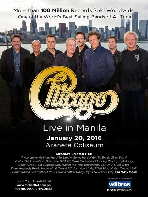 Chicago Live in Manila 2016