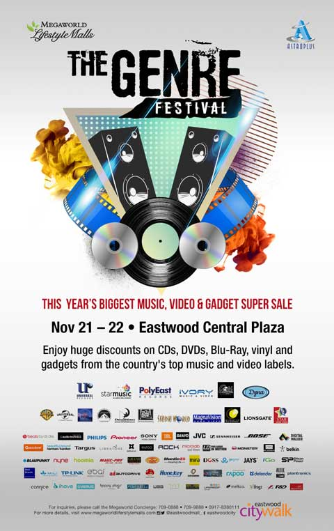 The Genre Festival: Biggest Music, Video and Gadget Super Sale