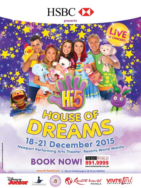 Hi-5 House of Dreams 2015