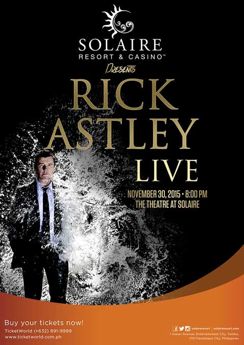 Rick Asley Live in Manila 2015