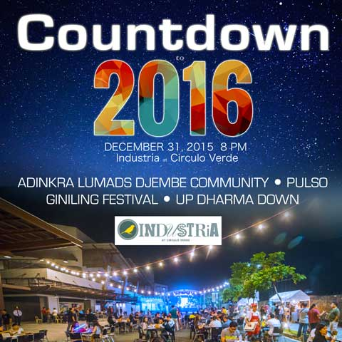 Countdown to 2016 at Industria Circulo Verde