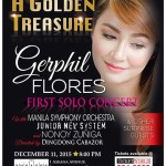 Gerphil Flores First Solo Concert