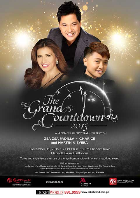 The Grand Countdown 2015 at Marriott Grand Ballroom