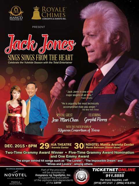 Jack Jones Live in Manila 2015