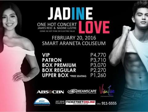 JADINE LOVE: One Hot Concert