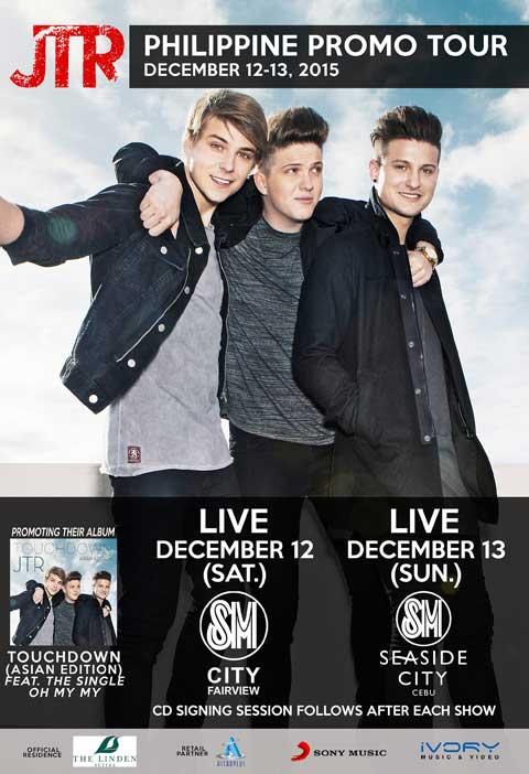 JTR Philippine Promo Tour