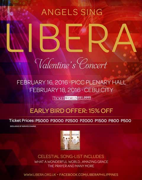 LIBERA – A Valentine's Concert 2016
