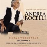 Andrea Bocelli Live in Manila 2016