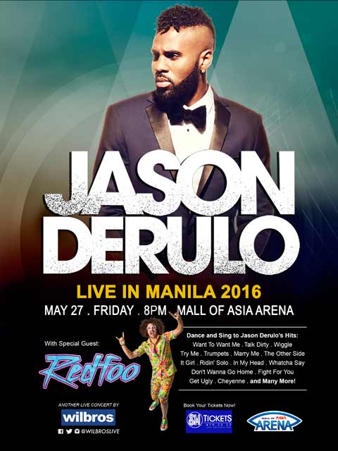 Jason Derulo Live in Manila 2016