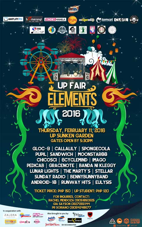 UP Fair Elements 2016