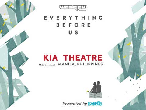Wong Fu Productions – Everything Before Us at Kia Theatre Cancelled