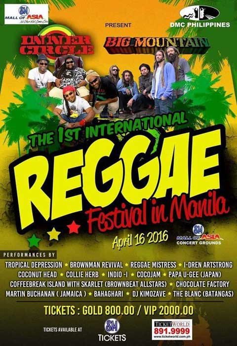 1st International Reggae Festival in Manila