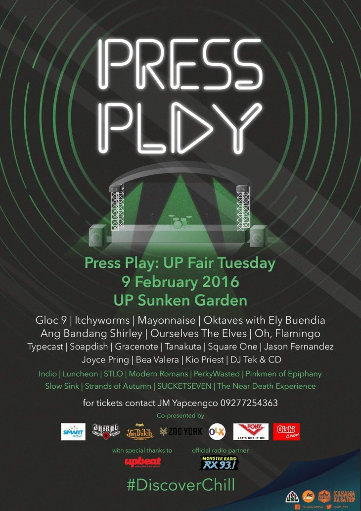 Press Play: UP Fair Tuesday