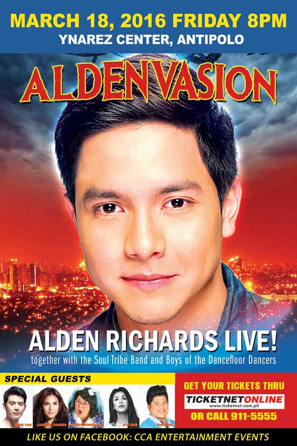 Aldenvasion – Alden Richards Live in Antipolo