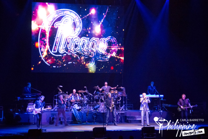 Chicago Live in Manila Photo Gallery