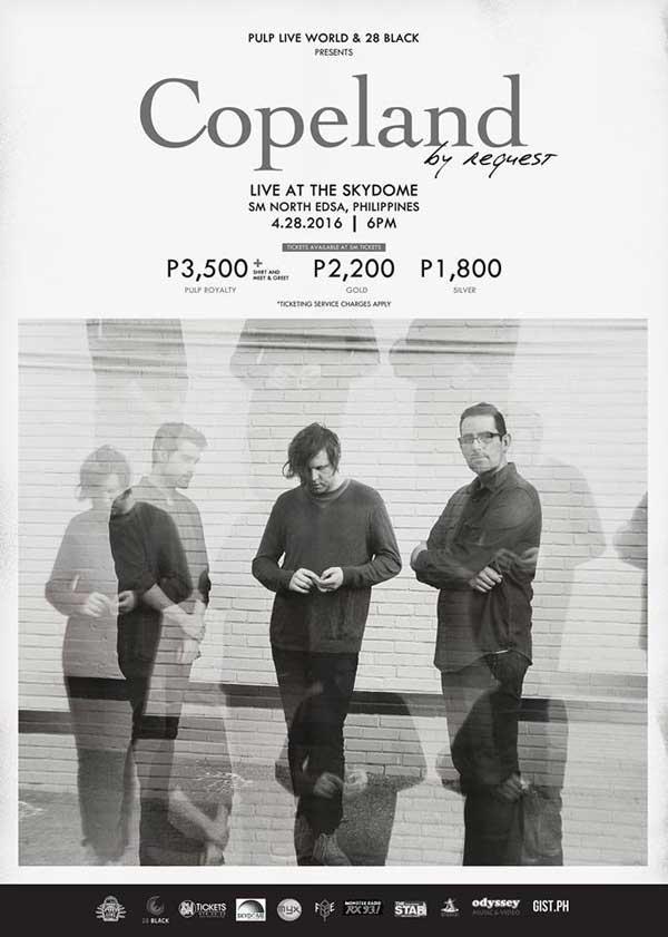 Copeland Live in Manila 2016