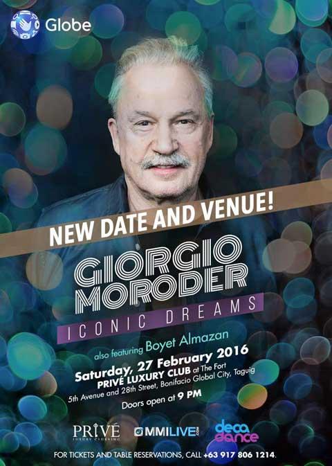 Giorgio Moroder Live in Manila 2016