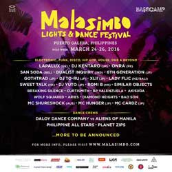 Malasimbo Lights & Dance Festival Tickets