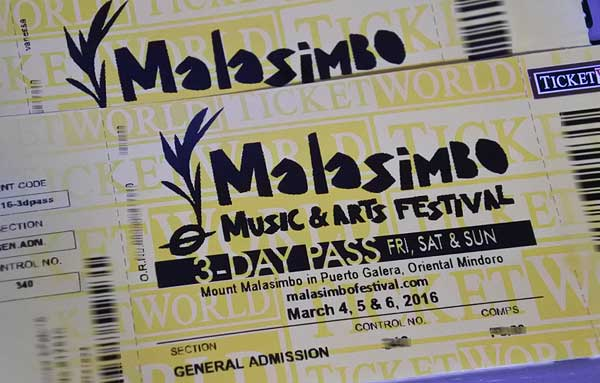 Win 3-Day Passes to watch Malasimbo Festival 2016