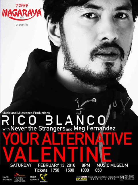 Rico Blanco – Your Alternative Valentine