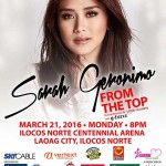 Sarah Geronimo From The Top Concert Tour