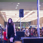Savannah Outen and At Sunset Mall Show Photo Gallery